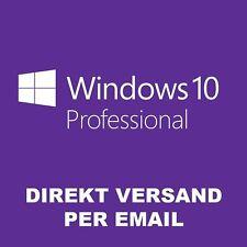Windows 10 Professional Win 10 Pro 32/64 Bits Product Key Aktivierung Online