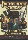 Pathfinder Cards Iconic Equipment 2 Item Deck Paizo Staff LLC Game 9781601256911