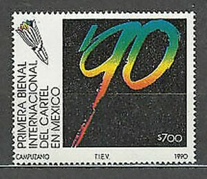 Mexico - Mail 1990 Yvert 1316 MNH