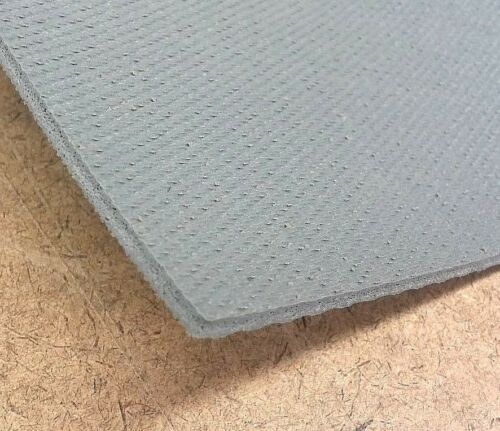 "Silicone Sponge Rubber Sheet  Med Density  US Hi-Temp 1//8/'/' Thk x 8/"" Square"