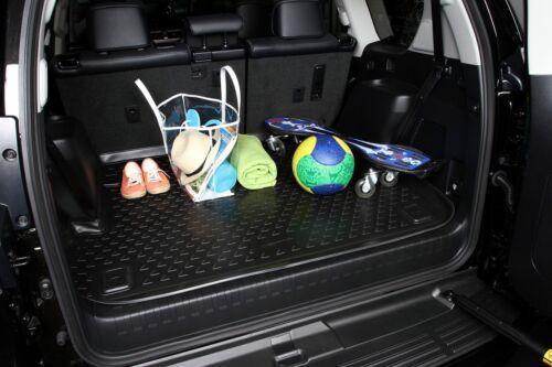 PREMIUM Antirutsch Gummi-Kofferraumwanne Porsche Cayenne 2002-2010 hohes Rand