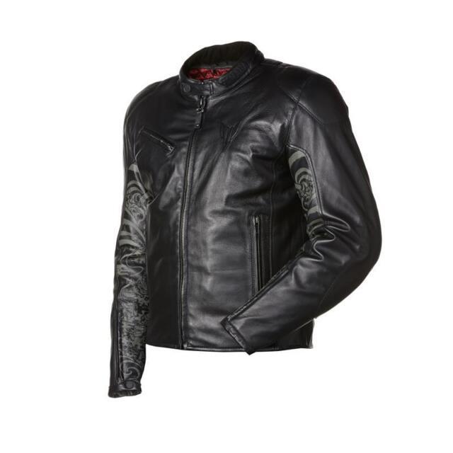 Yamaha MT Tattoo Driver Jacket Sz L 46 A14-ej215-b0-46 Leather ...