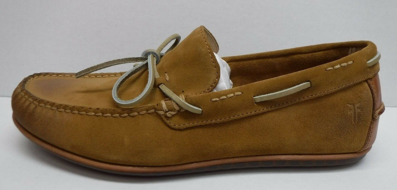 Frye Size 10.5 Tan Oil Suede Boat shoes New Mens shoes