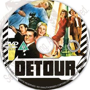 Details about DETOUR 1945 Noir Crime Drama Movie Film on DVD Region free