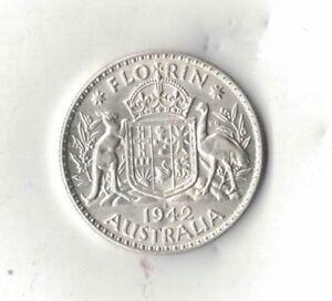 1942-Australia-Two-Shillings-Florin-aUNC