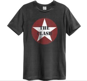 Amplfied T-Shirt THE CLASH Logo Shirt grau neu