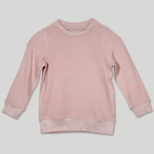 Afton Street Infant Girls/' Sweatshirt Pink Heather Size 18M