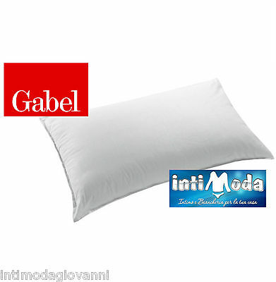 Cuscini Gabel.Cushion Pillow Gabel In Goose Down White Overnight 50x80cm Made In