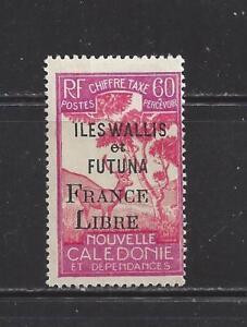"""Wallis Et Futuna Isl-j34-comme Neuf Charnière -1943 - """"france Libre"""" O/p Sur La Nouvelle-calédonie Pd 's-afficher Le Titre D'origine éGouttage"""