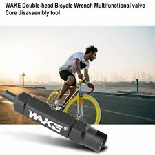 Double-head Bike Wrench Valve Core Disassembly Tool for Schrader Presta Valve lF