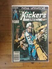 Kickers Inc #1 1986 Universe Marvel Birth of a Hero B7