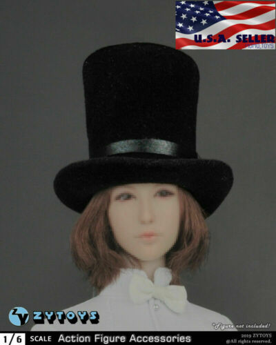 "1//6 Magician Hat Cap For 12/"" Hot Toys PHICEN TBL Kumik Female Male Figure ❶USA❶"