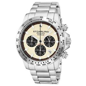 Stuhrling-891-05-Formulai-Quartz-Chronograph-Stainless-Steel-Date-Mens-Watch