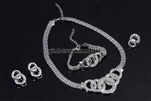 Mujer-collar-arete-anillo-pulsera-set-de-boda-coctel-conjunto-de-joyas-cristal