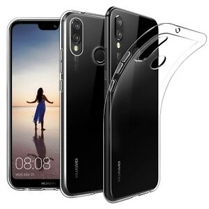 Cover-Trasparente-per-Huawei-P20-Lite-Custodia-Morbida-Sottile-Slim-TPU-o-PANNO