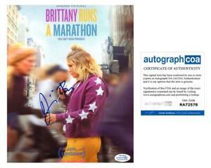 Jillian-Bell-034-Brittany-Runs-a-Marathon-034-AUTOGRAPH-Signed-8x10-Photo-B-ACOA