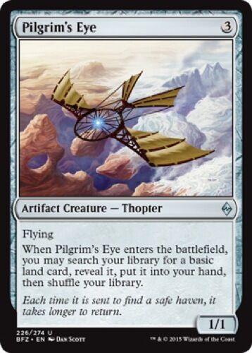 Uncommon 226//274 4 x Pilgrim/'s Eye - Battle for Zendikar