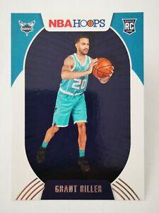 Panini Hoops 2020-21 N20 card NBA Rookie RC #217 Grant Riller Charlotte Hornets