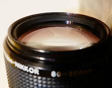 """""""la mejor Zoom Manual De Nikon jamás se ha hecho"""" Nikon Zoom-Nikkor Lente De 80-200mm F4 AI-S"""