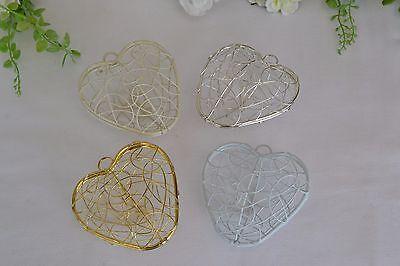 CLEARANCE Metal wire heart wedding venue church home DIY decoration post box