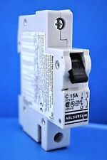 Altech Corp. # 1CU15 Single Pole Din Rail Mount Circuit Breaker 15Amp 277Volt AC