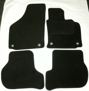Image Is Loading Black Tailored Velour Carpet Car Mats For ASTON