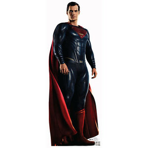 Image Is Loading SUPERMAN Justice League CARDBOARD CUTOUT Standup Standee Poster
