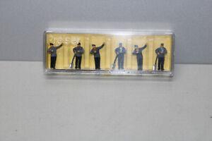 Preiser-4014-Figurines-Conducteur-de-Train-et-Chauffeur-Echelle-H0-Ovp