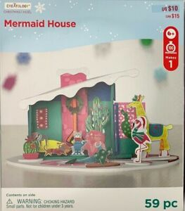 Creatology-Christmas-Mermaid-House-Kids-Foam-Crafting-Kits