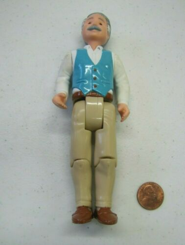 Details about  /FISHER PRICE Loving Family Dream Dollhouse GRANDPA Grandfather Pappy Grey Hair