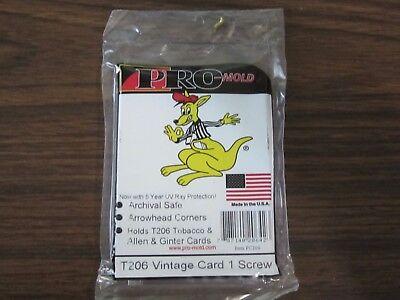 Screw Down Card Holder T-206 Allen /& Ginter 10 1-Screw Pro-Mold Mini Tobacco
