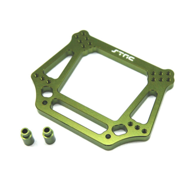 ST Racing Concepts ST3639G 6mm Heavy Duty Front Shock Tower (Gree) Slash Rustler