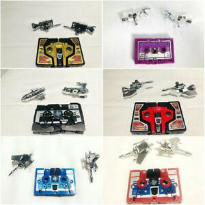 Transformers G1 Reissue cassettes Buzzsaw Rumble Ravage Ratbat Laserbeak Frenzy