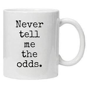 Star-Wars-Inspired-039-Never-tell-me-the-odds-039-Novelty-White-Mug