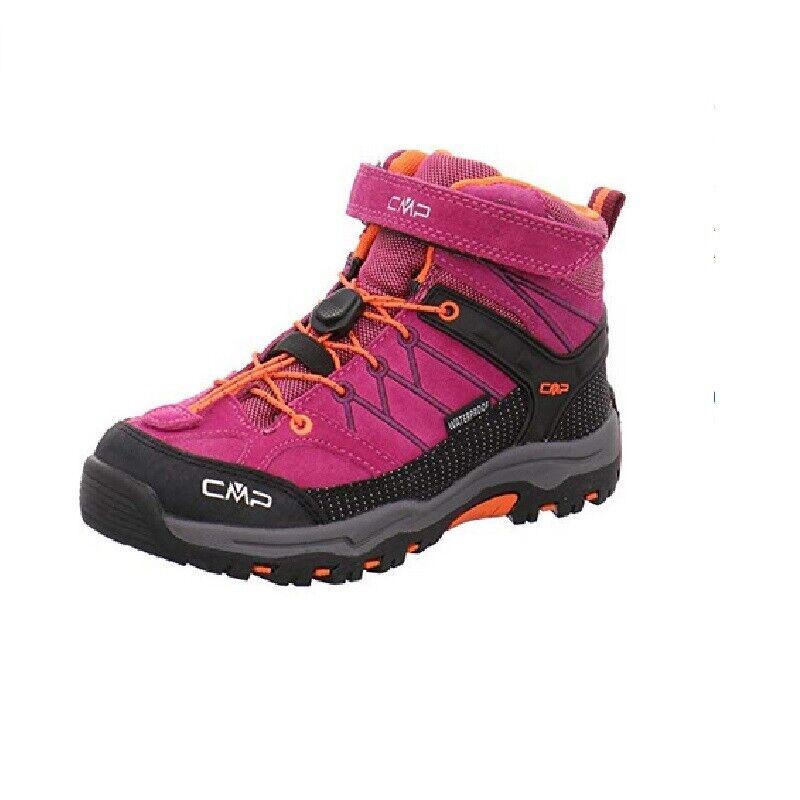 CMP Campagnolo zapatos Pedule Bambine Ragazze - Rigel Mid WP - Magenta