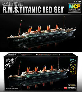 1-700-R-M-S-TITANIC-LED-SET-14220-MULTI-COLOR-PARTS-ACADEMY-HOBBY-KITS