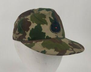 Vietnam War Era or Post Royal Thai Army Wine Leaf  Camo Field Cap Baseball Hat