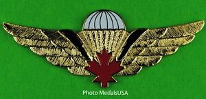 CANADIAN-Airborne-Army-Paratrooper-Jump-Wing-CANADA