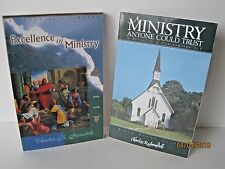 Charles Swindoll Study Guides, 2 Corinthians 1-7 & 1 Timothy, Lot of 2 Books