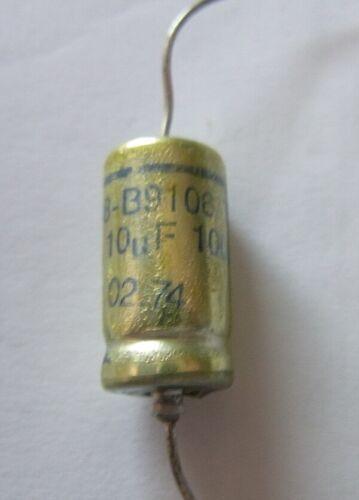 100V Elko 10 µF