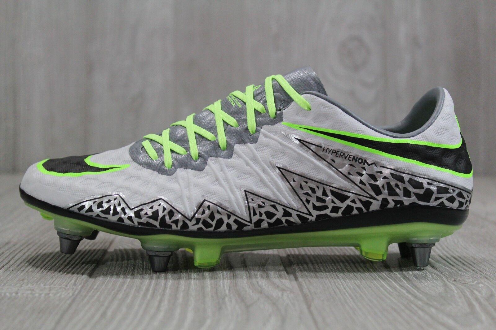 37 Nike Hypervenom Phinish SG-Pro Soccer Cleats Mens Sz 6 (Wmns 7.5) 768898 004