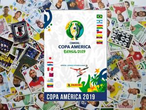 Pegatinas Panini Copa América 2019 Brasil 10 X 5 $Elige Cualquier!!!