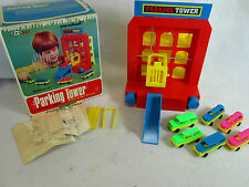 Vintage 1971 DACToy Dac Toy Pre-School Parking Tower garage elevator play set