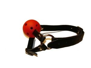GB-05 Ball gag with chin strap