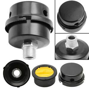 "1/2"" Thread Metal Air Compressor Intake Filter Noise Muffler Silencer 12.5mm  fS"