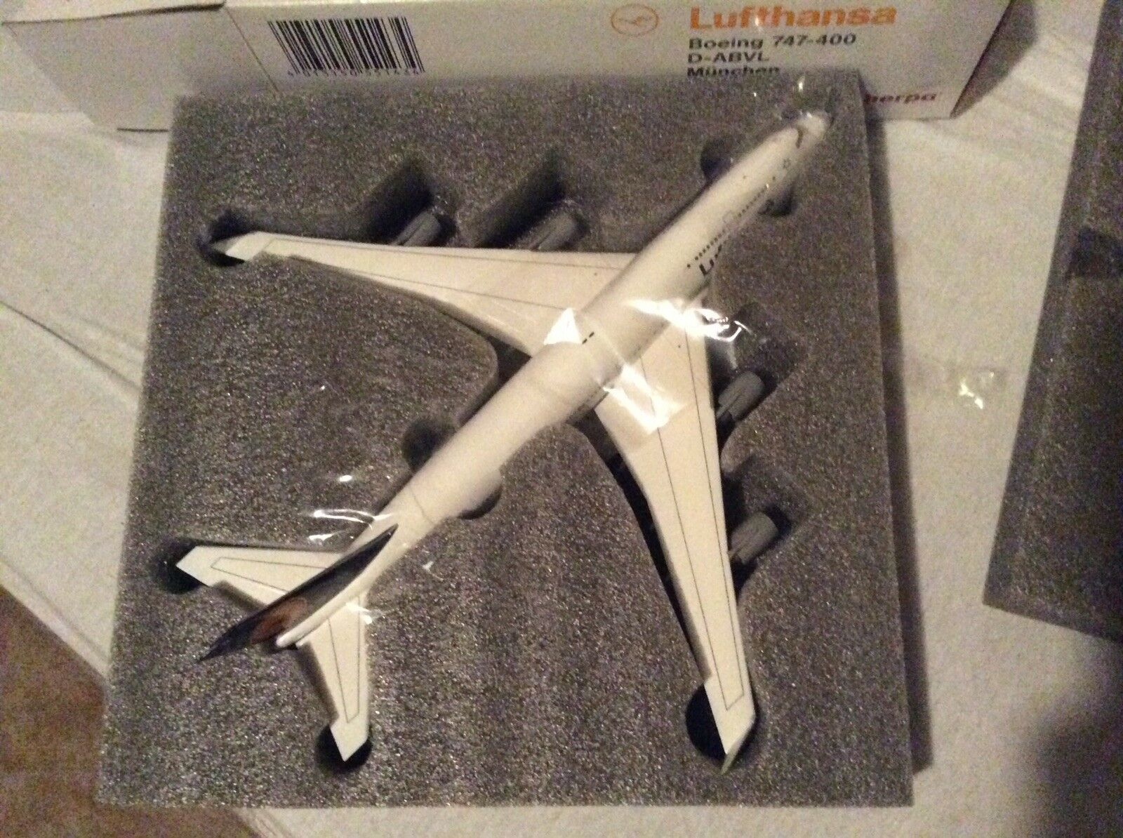 1 200 Herpa Lufthansa Boeing 747-400 München WM 2006 Fussballnase OVP  | Verschiedene Arten und Stile