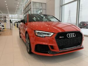 2018 Audi RS3 TOIT PANO   AWD   NAV   CUIR   AUDIO BANG&OLUFSEN