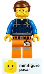tlm196 Lego The Lego Movie 2 70839 - Stubble Trouble Emmet Minifigure - New