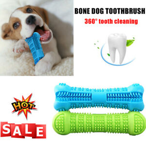 Pet-Dog-Bone-shape-Toothbrush-Brushing-Chew-Toy-Stick-Teeth-Cleaning-Oral-Care