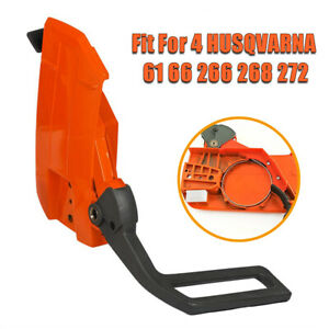 For Husqvarna 61 66 266 268 272 Chainsaw Clutch Cover /& Chain Brake Assembly